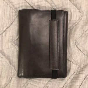 All Saints passport wallet